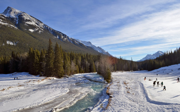Hopefully You'll Have Blue Skies for your Trip to Alberta Canada! :: I've Been Bit! A Travel Blog