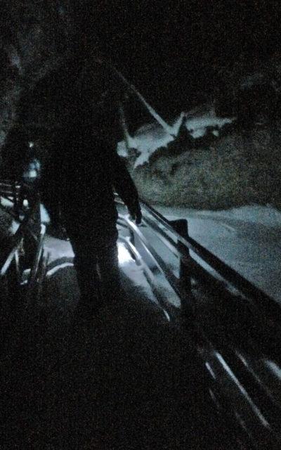 Johnston Canyon Night Ice Walk :: I've Been Bit! A Travel Blog
