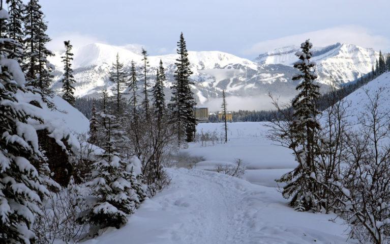 Views Along Alberta Winter Hikes :: I've Been Bit! A Travel Blog