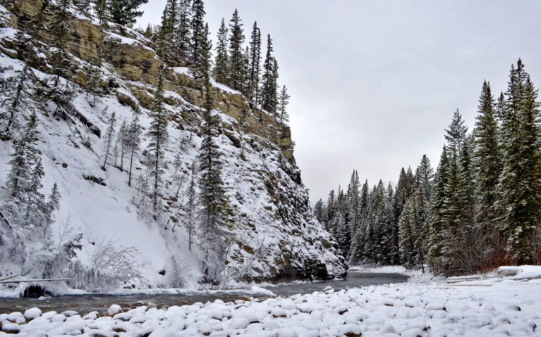 Maligne Canyon is One of the Places to Go in Alberta Winter :: I've Been Bit! A Travel Blog