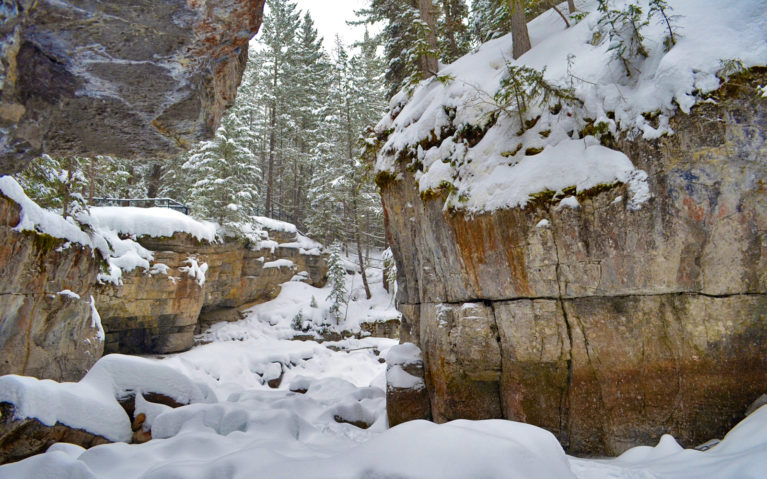 Maligne Canyon is a Must On Any Alberta Road Trip Itinerary :: I've Been Bit! A Travel Blog