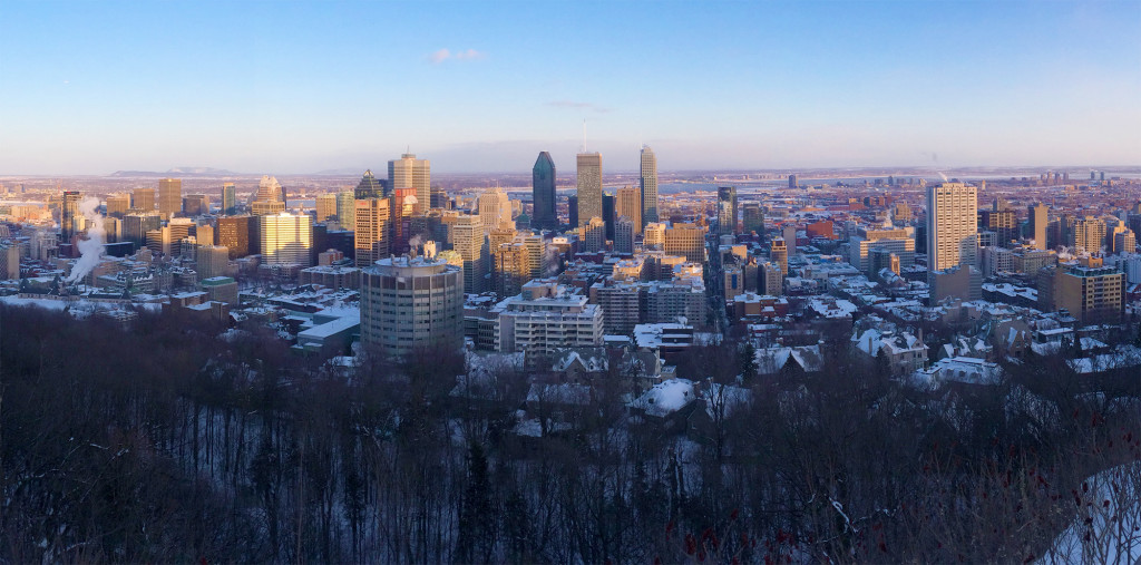 Fun Fact: it is illegal for companies to build skyscrapers taller than Mont Royal itself!