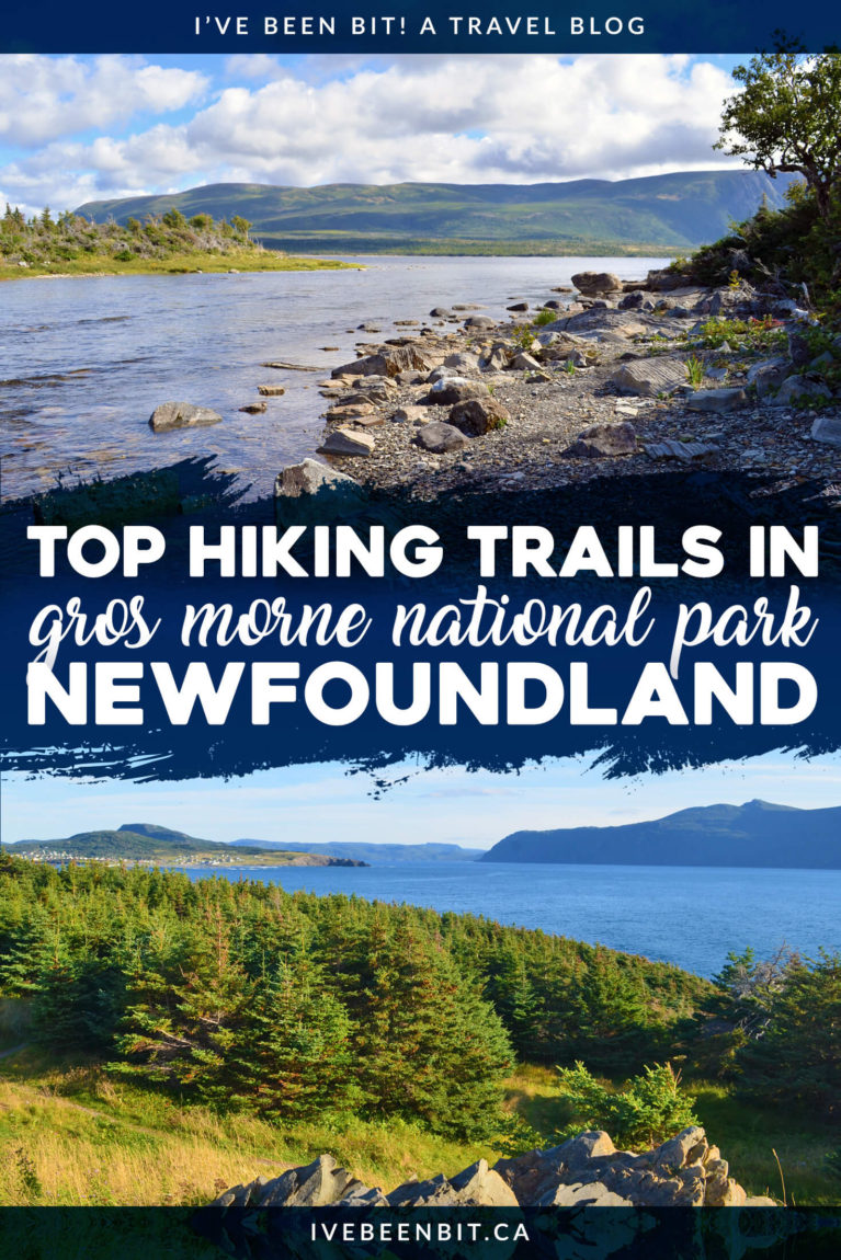 Gros Morne National Park in Newfoundland has been a UNESCO World Heritage Site for over 30 years. Inside you'll find a number of incredible hiking trails. If you're planning to travel Newfoundland you can't miss these Gros Morne National Park hiking trails! | #Travel #Canada #Newfoundland #NationalPark #Hiking | IveBeenBit.ca