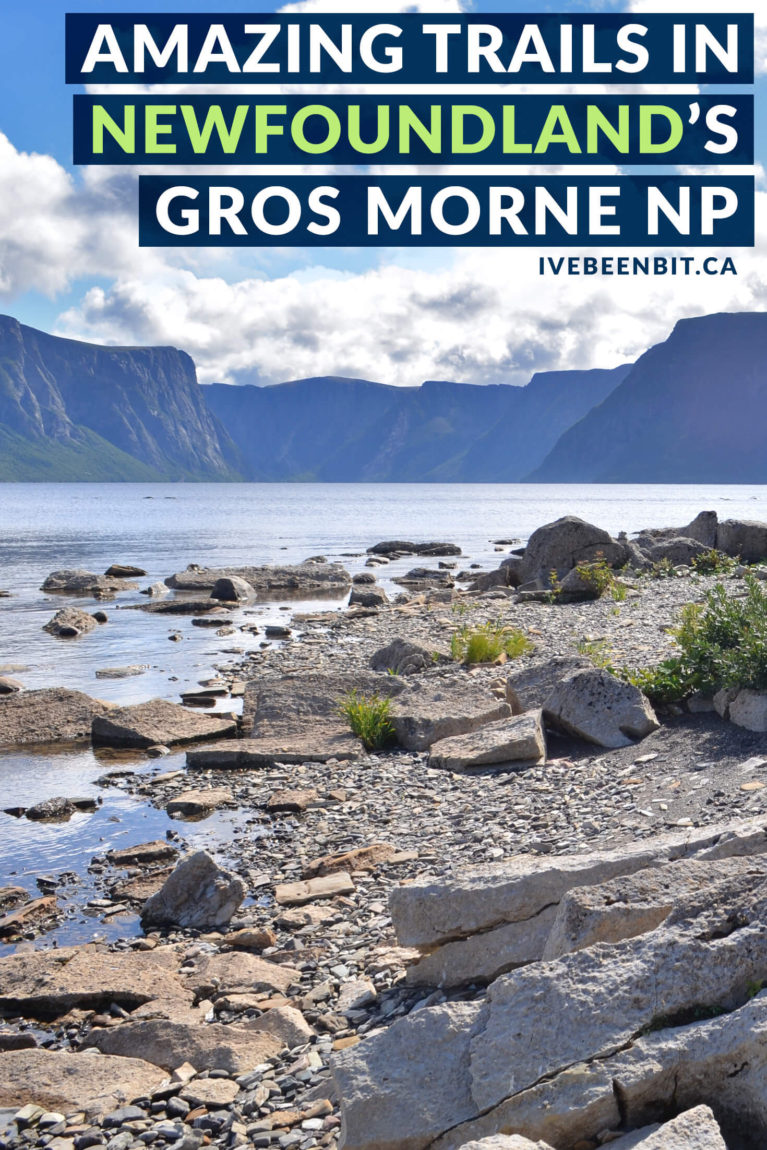 Gros Morne National Park in Newfoundland has been a UNESCO World Heritage Site for over 30 years. Inside you'll find a number of incredible hiking trails. If you're planning to travel Newfoundland you can't miss these Gros Morne National Park hiking trails! | #Travel #Canada #Newfoundland #Hiking #NationalPark | IveBeenBit.ca