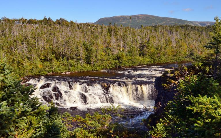 Beautiful Shot of Baker's Brook Falls :: I've Been Bit! A Travel Blog