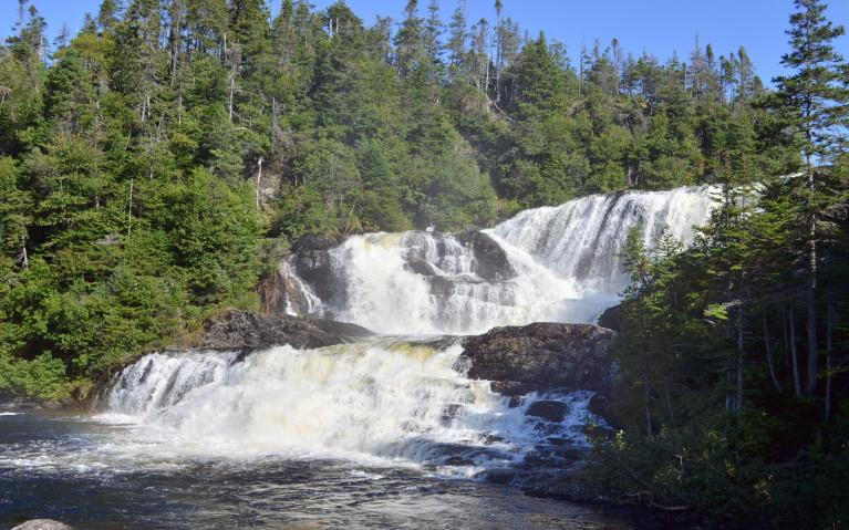 Another Shot of Baker's Brook Falls :: I've Been Bit! A Travel Blog