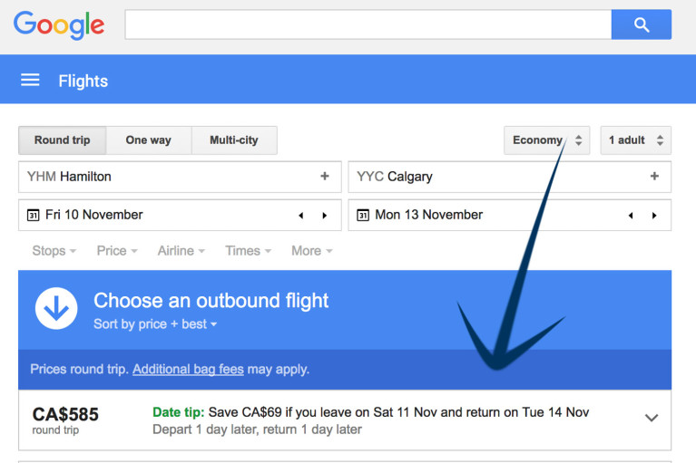 Google Flights - Tips and Tricks to Find Cheap Flights :: I've Been Bit! A Travel Blog