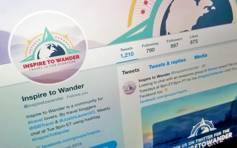 Screenshot of the Inspire to Wander Travel Chat :: I've Been Bit! Travel Blog