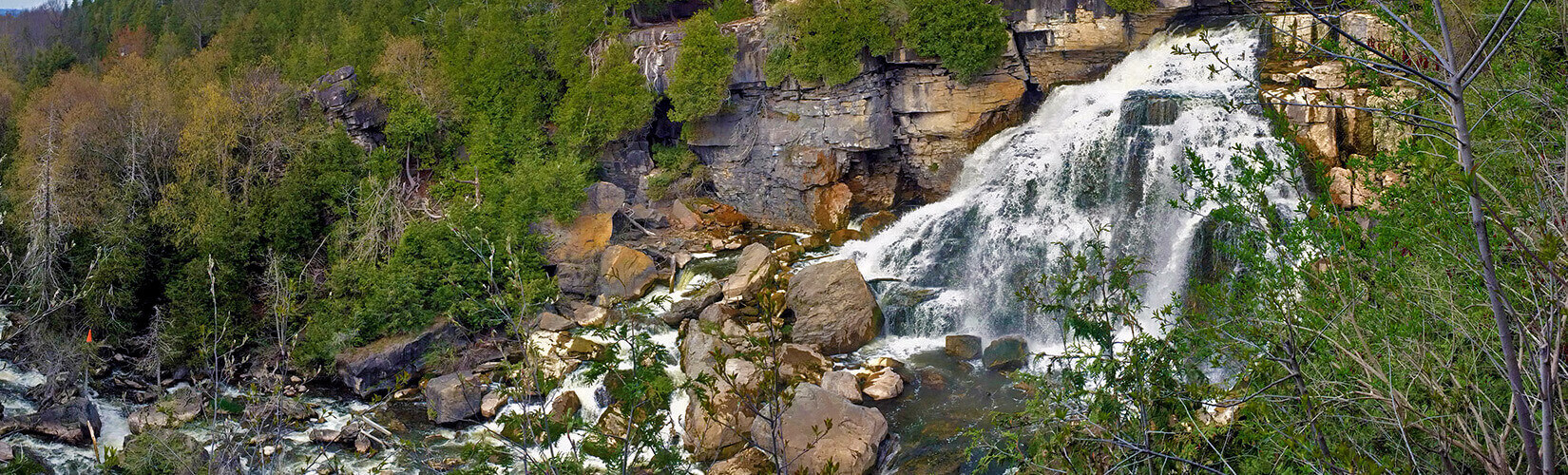 Grey County Waterfalls: The Guide For Every Aquaholic :: I've Been Bit! Travel Blog