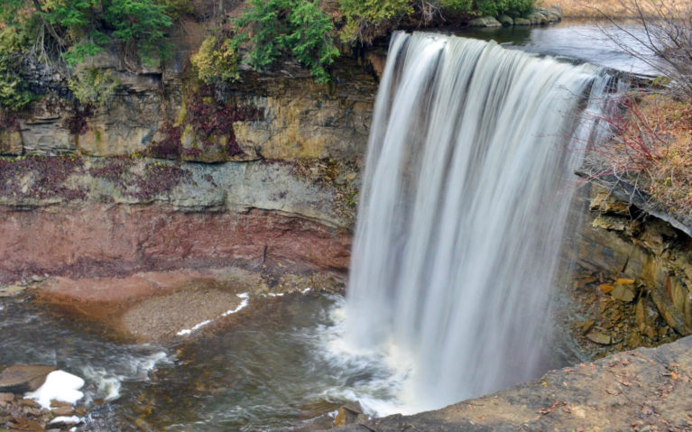 Indian Falls, North of Owen Sound in Ontario :: I've Been Bit! Travel Blog