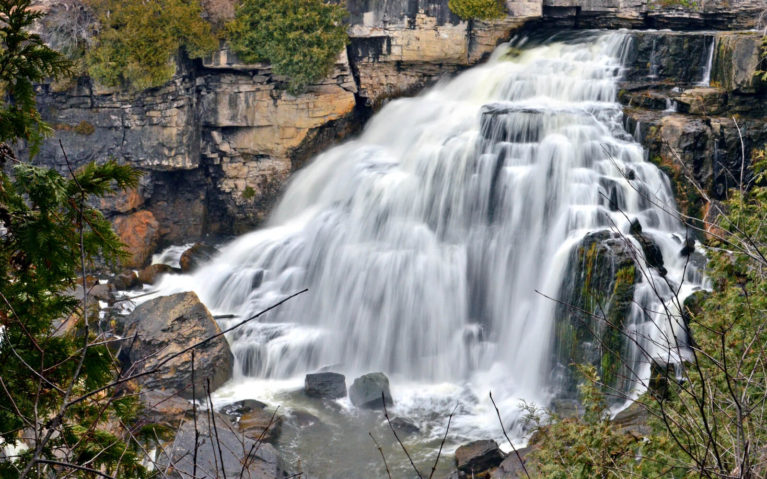 Inglis Falls, A Fan Favourite in Grey County :: I've Been Bit! Travel Blog