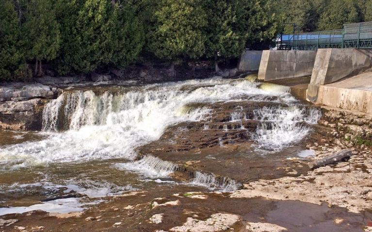 Grey County's McGowan Falls :: I've Been Bit! Travel Blog