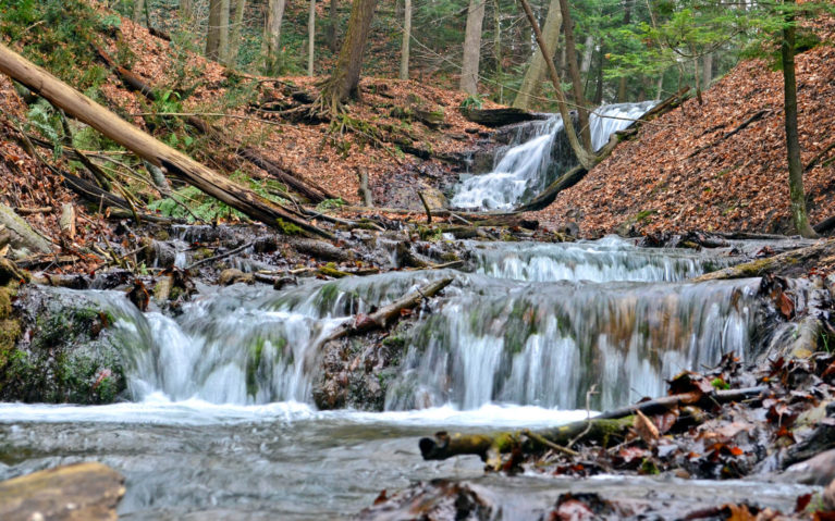 Weavers Creek Falls in Owen Sound's Harrison Park :: I've Been Bit! Travel Blog