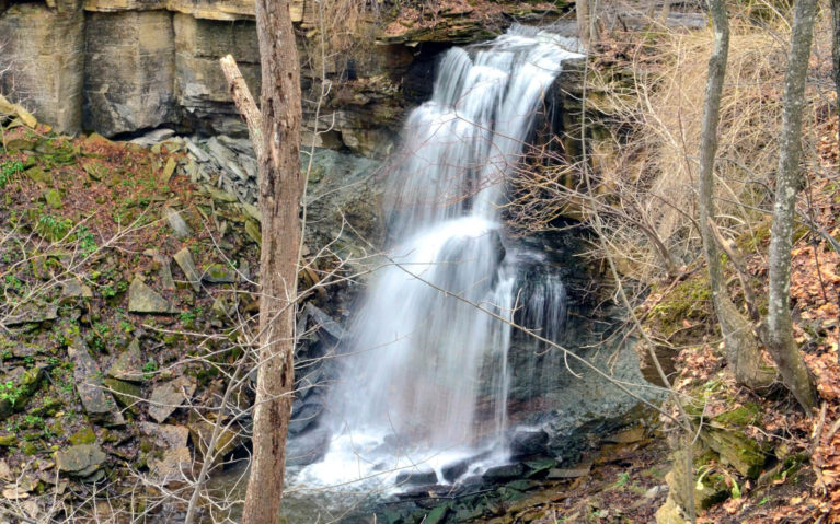 Webwood Falls, One of the Lesser Known Grey County Waterfalls :: I've Been Bit! Travel Blog