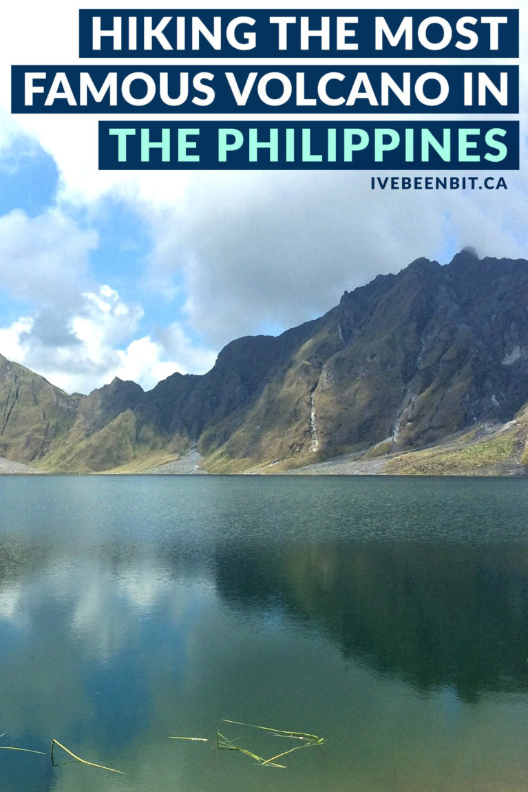 Located in Zambales in The Philippines, Mt Pinatubo is a must-do excursion when visiting the country. Inside you'll find all the details you need as well as what to expect when hiking to Mount Pinatubo's famous Crater Lake. | Hiking in The Philippines. Must Do Activities in The Philippines. | #Travel #ThePhilippines #Asia | IveBeenBit.ca