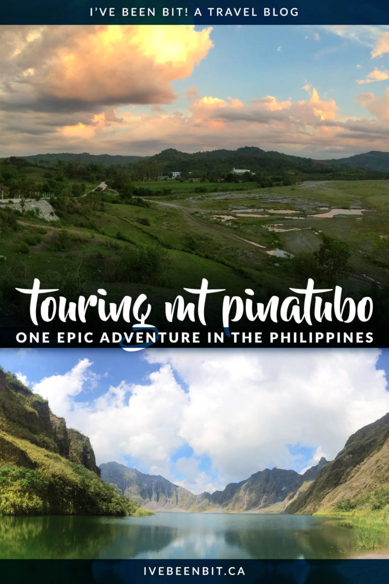 Located in Zambales in The Philippines, Mt Pinatubo is a must-do excursion when visiting the country. Inside you'll find all the details you need as well as what to expect when hiking to Mount Pinatubo's famous Crater Lake. | Must Do Activities in The Philippines. Hiking in The Philippines. | #Travel #Asia #ThePhilippines | IveBeenBit.ca