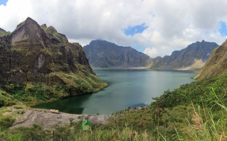 View from Top of Stairs - Mt Pinatubo Tour :: I've Been Bit! A Travel Blog