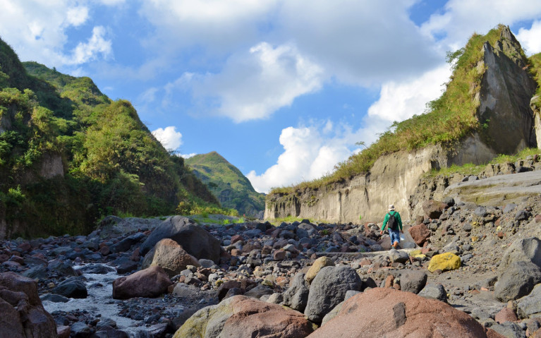 Start of the trek - Mt Pinatubo Tour :: I've Been Bit! A Travel Blog