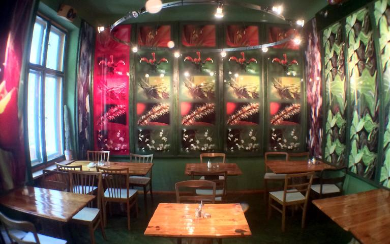 Common Room at Berlin's Propeller Island City Lodge :: I've Been Bit! A Travel Blog