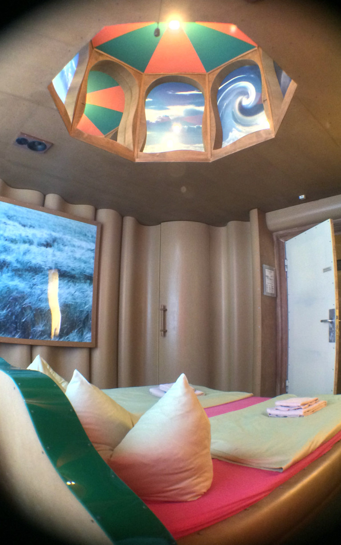 The Landscape Room at Propeller Island City Lodge in Berlin :: I've Been Bit! A Travel Blog