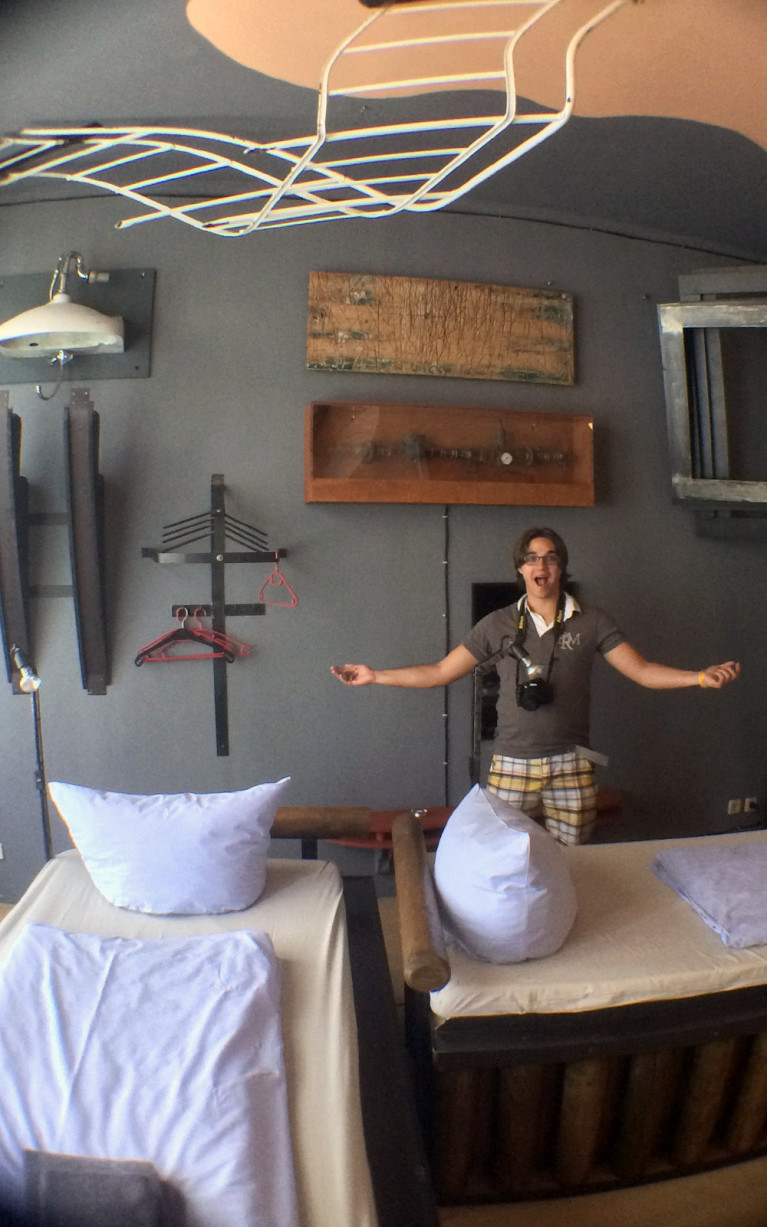 The Museum Room at Propeller Island City Lodge in Berlin :: I've Been Bit! A Travel Blog