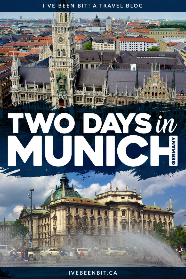 In the heart of Bavaria lies the city of water, barley and hops - Munich. Whether you have 48 hours or more, see all of the amazing things do in with this Munich itinerary. 2 days in Munich itinerary. | #Travel #Europe #Germany #Munich #München #Itinerary | IveBeenBit.ca