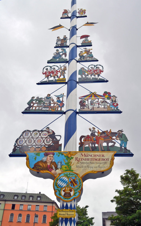 Munich's Maypole, an Ode to Beer Making :: I've Been Bit! A Travel Blog