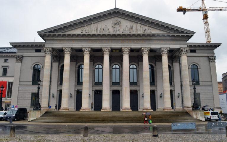 Munich's National Theatre :: I've Been Bit! A Travel Blog