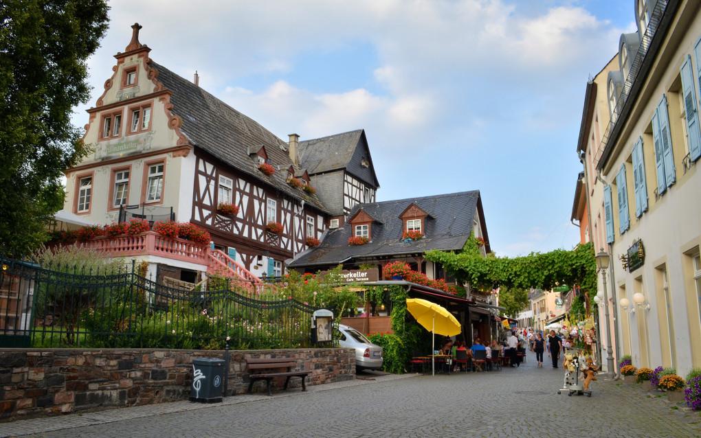 I've Been Bit! A Travel Blog :: Germany's Rüdesheim am Rhein