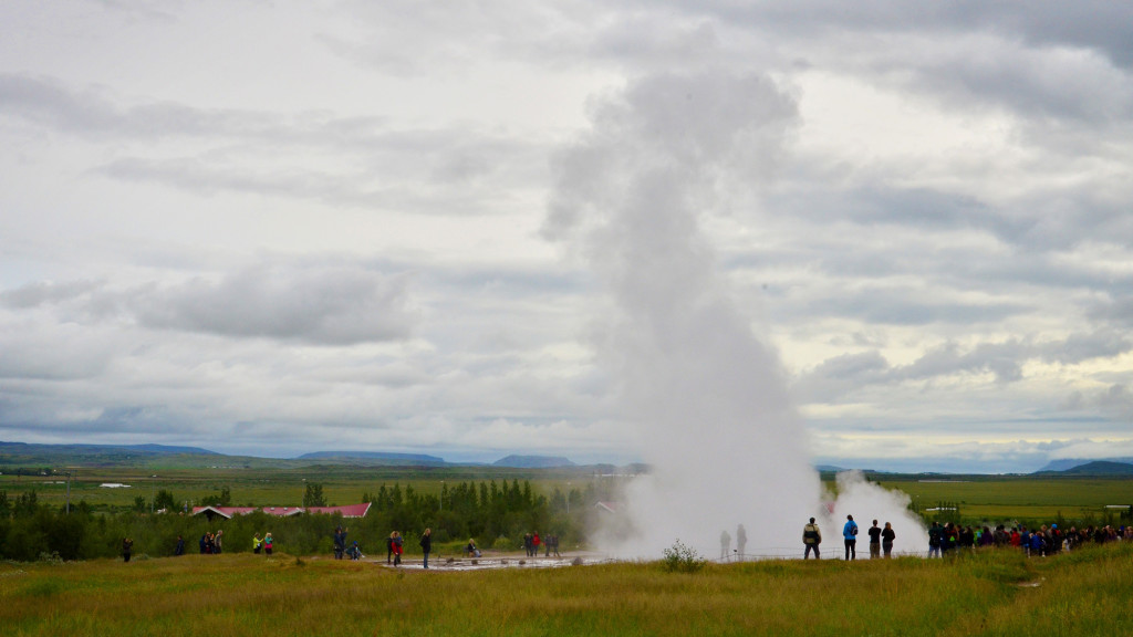 Always fun to watch the geyser!