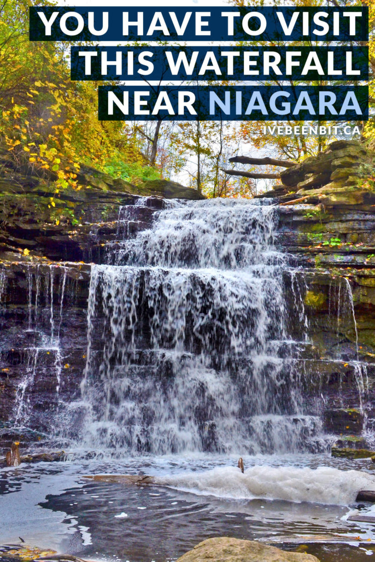 Whether you're making your way to Niagara Falls or just going hiking on a beautiful day, you'll have a blast at Beamer Falls Conservation Area! Things to do close to Toronto Ontario. Waterfalls in Ontario. Waterfalls in Niagara. | #Travel #Canada #Ontario #Waterfalls #Niagara #Hiking | IveBeenBit.ca