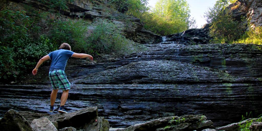 Exploring Forty Mile Creek & Upper Beamer Falls :: I've Been Bit! A Travel Blog