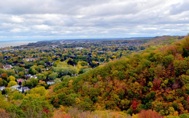 Autumn Views from Beamer Falls Conservation Area :: I've Been Bit! A Travel Blog