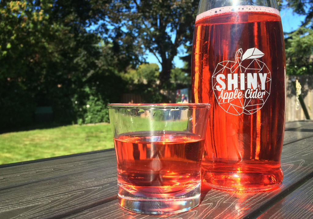 Shiny Apple Cider Review? Two Thumbs Up! :: I've Been Bit! A Travel Blog