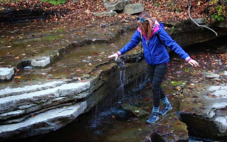 Walking Across The Rocks :: I've Been Bit! A Travel Blog