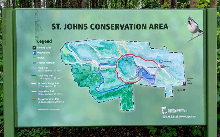 St Johns Conservation Area Trail Map :: I've Been Bit! Travel Blog