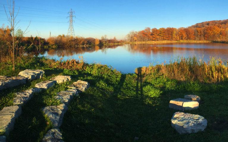 Outdoor Amphitheatre Along the Wetlands Side Trail :: I've Been Bit! Travel Blog
