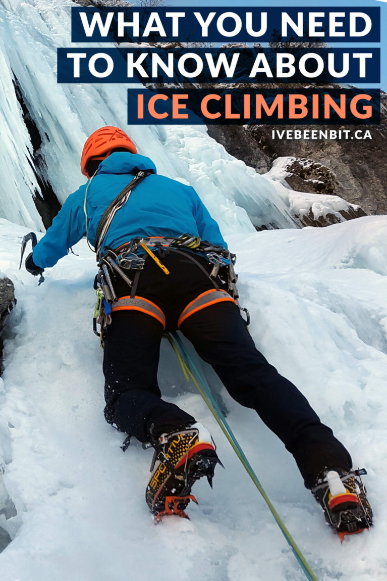 It may sound intimidating, but ice climbing is a blast! Here are 8 reasons why you should give it a shot & where you can try ice climbing in Ontario! Winter fun in Ontario, Canada. Ice climbing in Hamilton, Muskoka, Ontario's Highlands, Sault Ste Marie and Thunder Bay. | #Travel #Canada #Ontario #IceClimbing #WinterTravel | IveBeenBit.ca