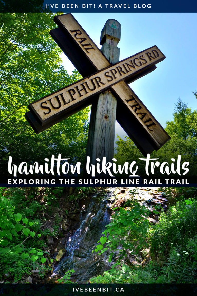 Hamilton is home to a plethora of beautiful trails, though many are popular. If you're looking for a quiet, hidden gem, check out the Sulphur Line Trail! | Hamilton Hiking | Hamilton Hiking Trails | Hiking Hamilton Ontario | Things to Do in Hamilton Ontario Canada | Hiking in Ontario | Ontario Hiking Trails | Family Friendly Hiking Trails | #Ontario #Hiking | IveBeenBit.ca
