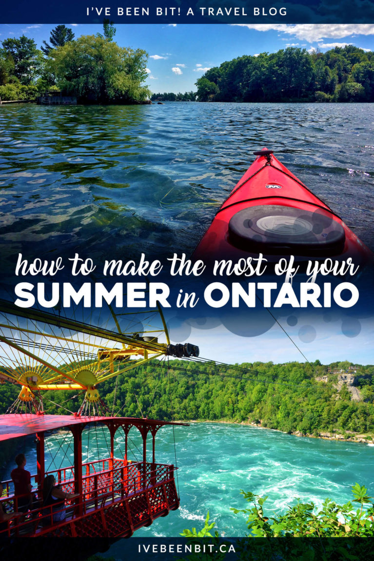 Ontario has more to offer than people realize. Don't miss out on all of the epic adventures in the province with this Ontario summer bucket list! Travel in Ontario. Things to do in Ontario in the summer. | #Travel #Canada #Ontario #Summer
