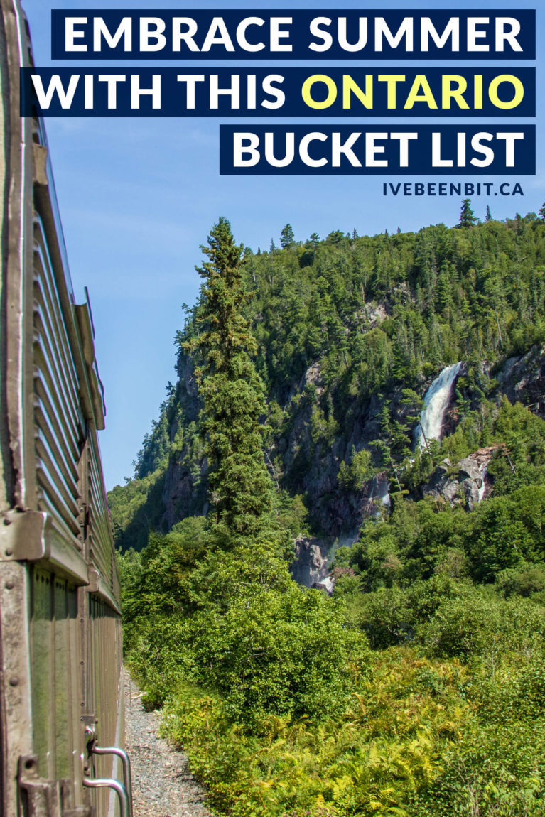 Ontario has more to offer than people realize. Don't miss out on all of the epic things to do in Ontario with this Ontario summer bucket list! Travel in Ontario. | #Travel #Canada #Ontario #Summer