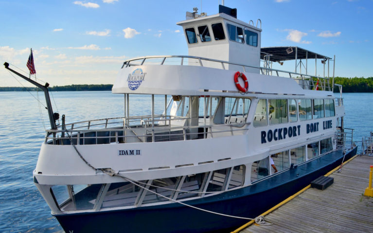 One of the Boats from the Rockport Cruise Line in the 1000 Islands :: I've Been Bit! Travel Blog