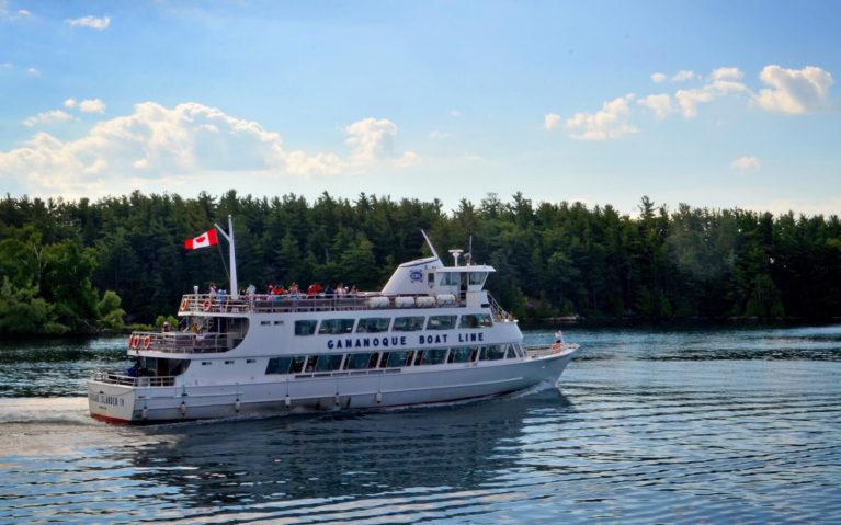 View of a Gananoque Boat Line Vessel :: I've Been Bit! Travel Blog