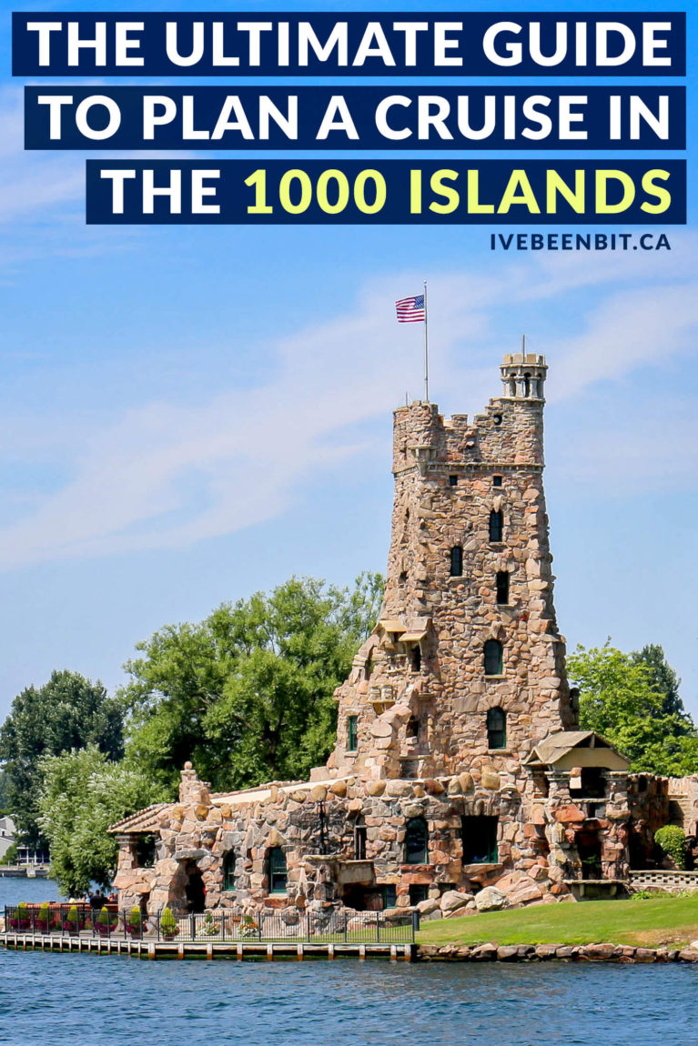 Looking for a destination with gorgeous scenery at every turn? There are thousands of reasons to want to visit Thousand Islands but the best way to see them is with a 1000 Islands Cruise. Inside you'll find all the details to plan the best cruise! | #Travel #Canada #Ontario #1000Islands #ThousandIslands | IveBeenBit.ca