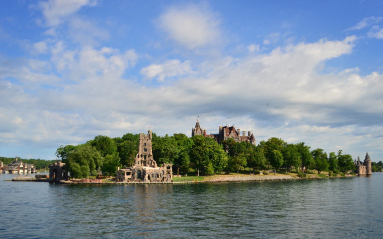 View of Boldt Castle from a Thousand Islands Cruise :: I've Been Bit! Travel Blog