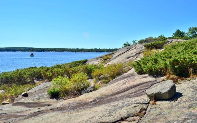 Canadian Shield on Beausoleil Island :: I've Been Bit! Travel Blog