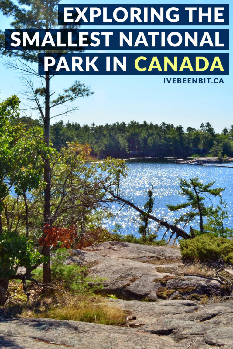Ontario is home to the smallest national park in all of Canada - Georgian Bay Islands National Park. This Canada Parks gem is full of gorgeous Canadian landscapes that are waiting to be your next outdoor adventure destination. Check out this Georgian Bay Islands National Park guide to plan your visit. | #Travel #Canada #Ontario #NationalPark #ParksCanada #Hiking | IveBeenBit.ca