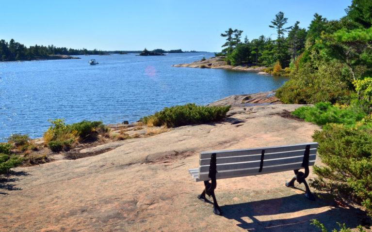 Views Along the Fairy Lake Trail on Beausoleil Island :: I've Been Bit! Travel Blog