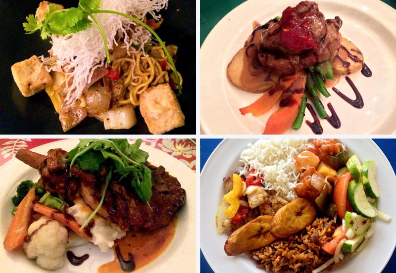 Food at the Breezes Resort & Spa :: I've Been Bit! A Travel Blog