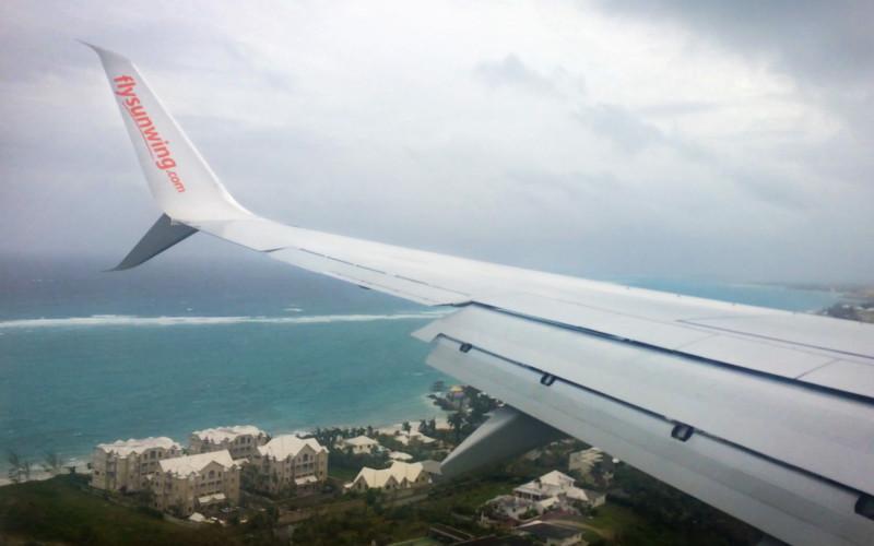 Awaiting to land in Nassau, Bahamas :: I've Been Bit! A Travel Blog